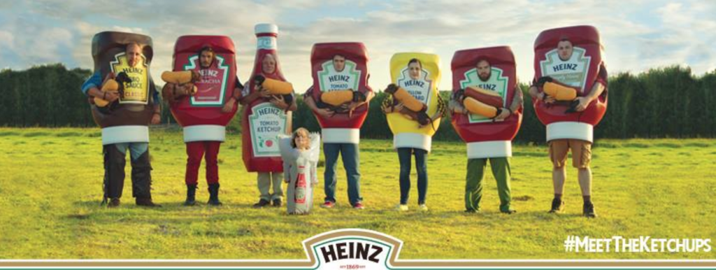 15 highly creative facebook pages - Heinz