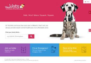veterinary practice website