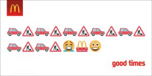 emoji adverts