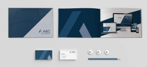 rebrand stationery