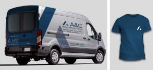 rebrand delivery vehicles