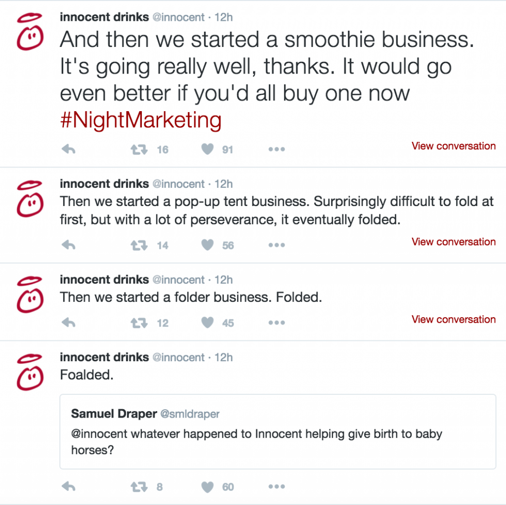 brands being real
