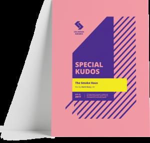 smoke haus website css design award