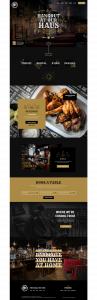 smoke haus homepage website design