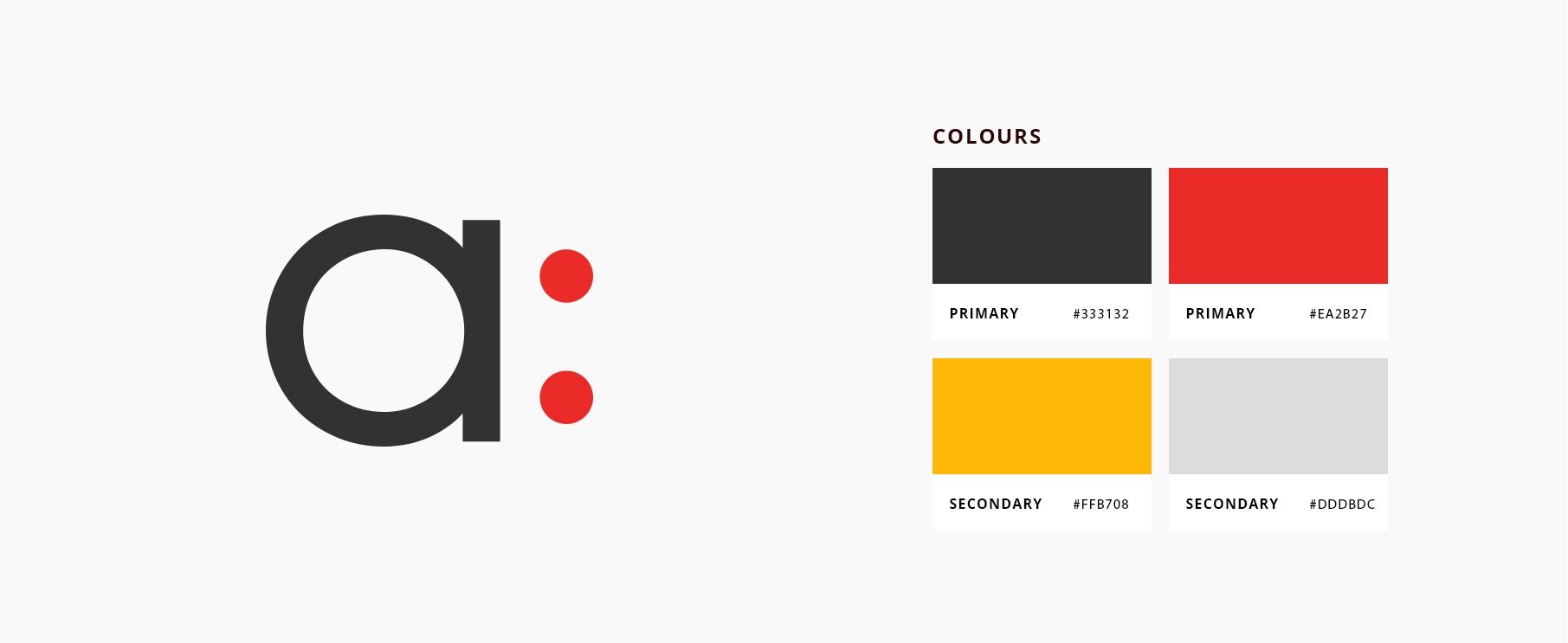 An image of Ameo's colour palette