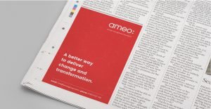 newspaper advertising design
