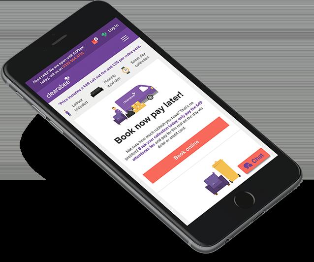 waste removal website design