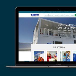 elliott-website-on-macbook-pro