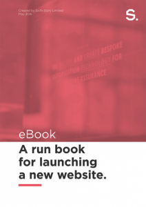 image of website launch ebook