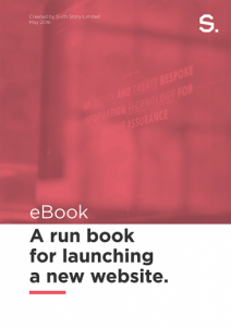 launching a new website guide book