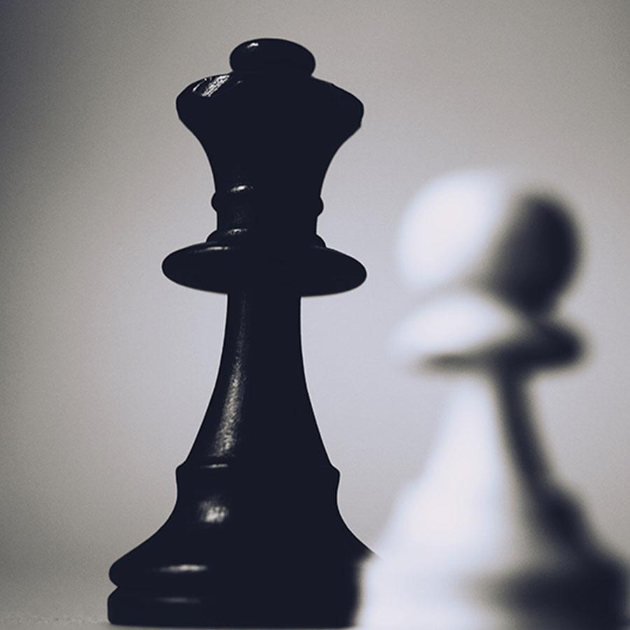 black-chess-piece