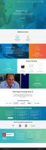 energy sector website design