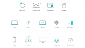 An image of Cable.co.uk icons
