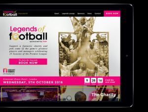 A mockup of LoF website