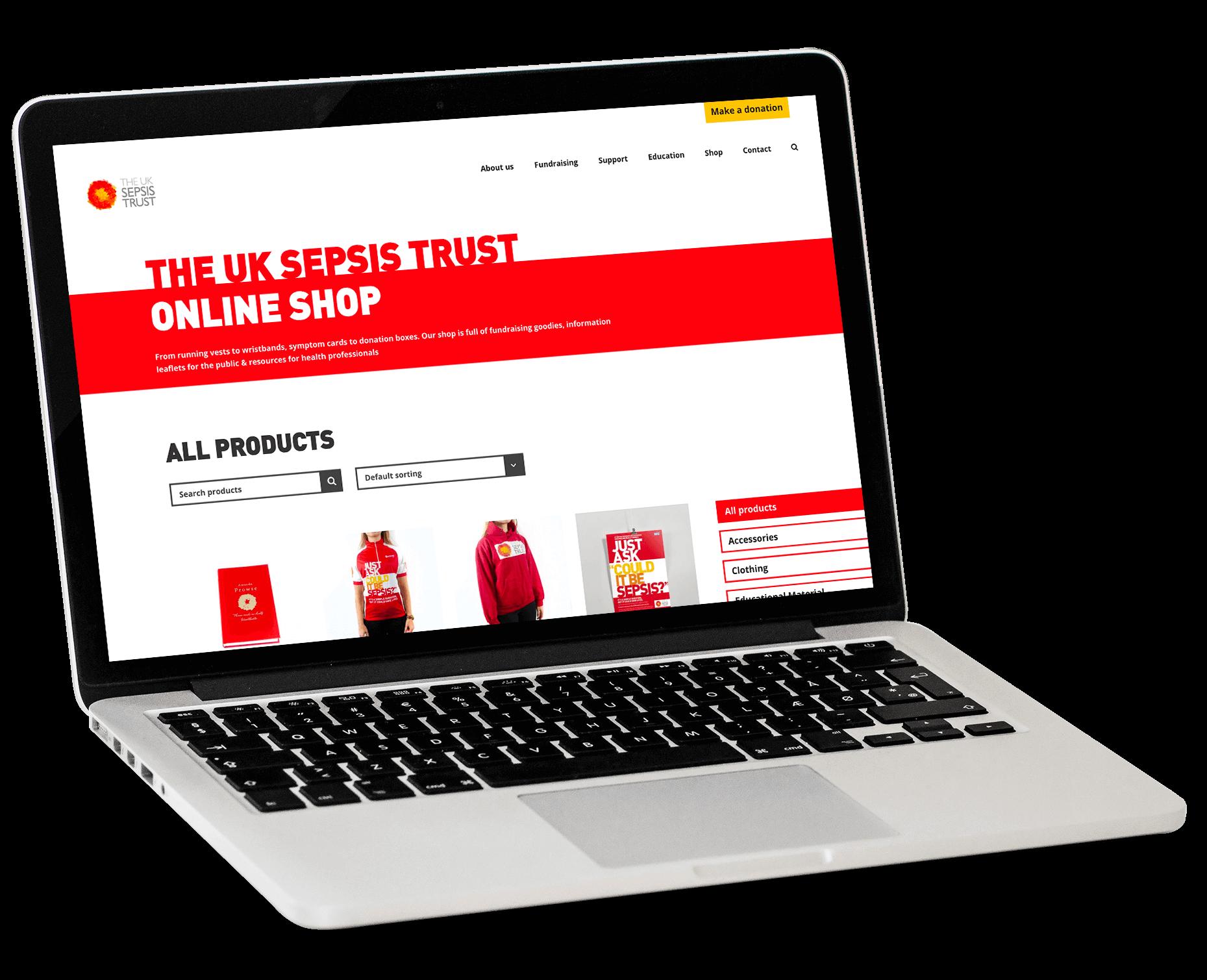 Sepsis-Trust-Website-Design-ecommerce