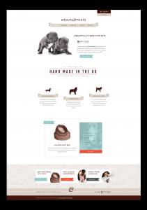 Snouts and Pouts web design