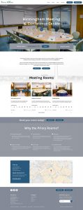 homepage-design-of-the-priory-rooms-website