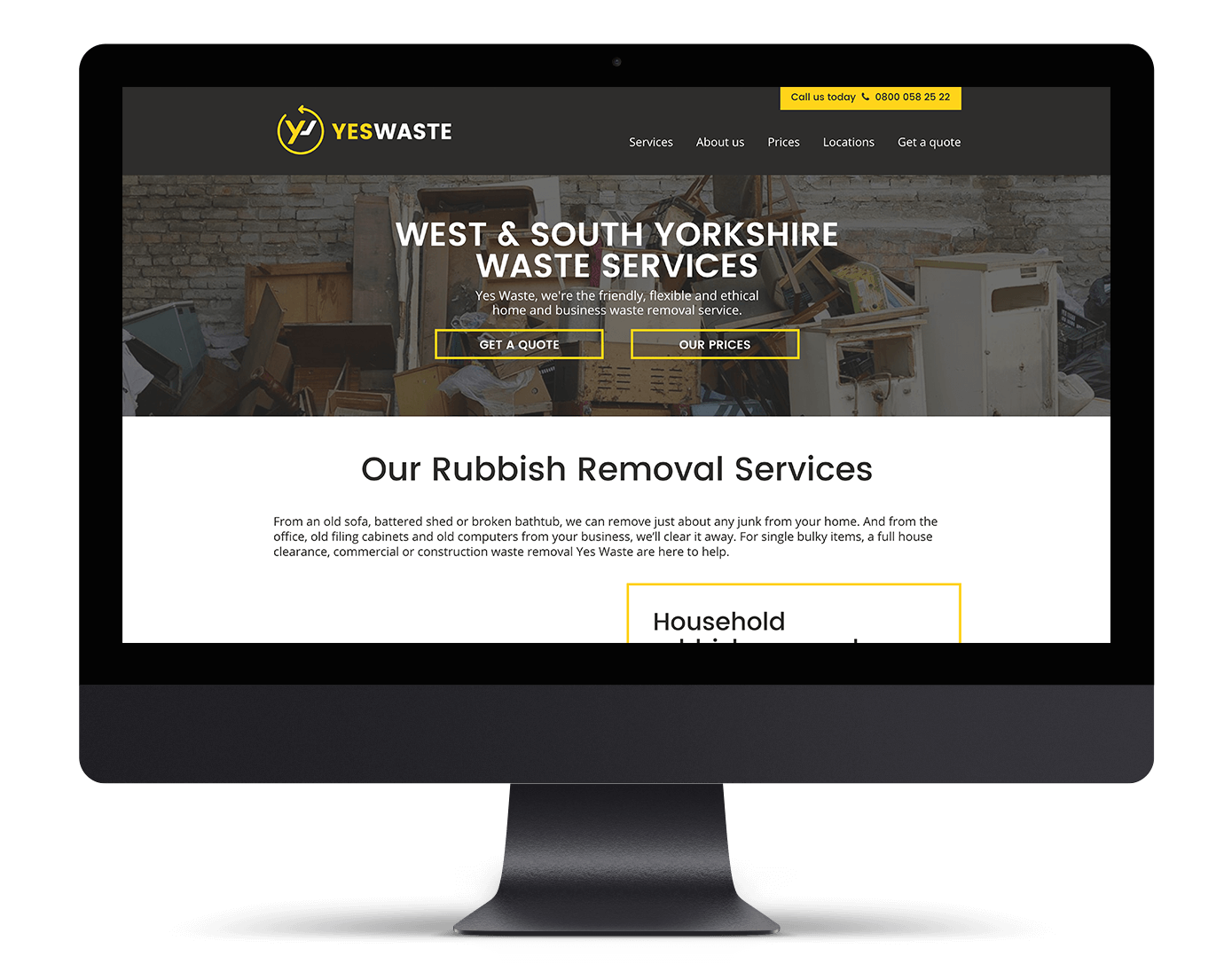 the smoke haus web design