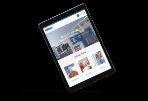 construction firm website design