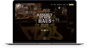 image of The Smokehaus website design birmingham