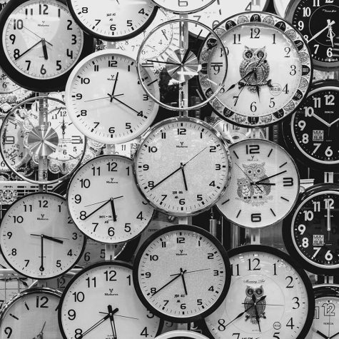 clocks for content marketing scheduling