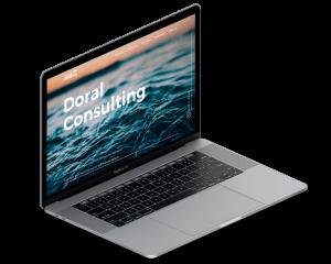 doral consulting website design