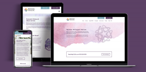 Black Country Women's Aid website design