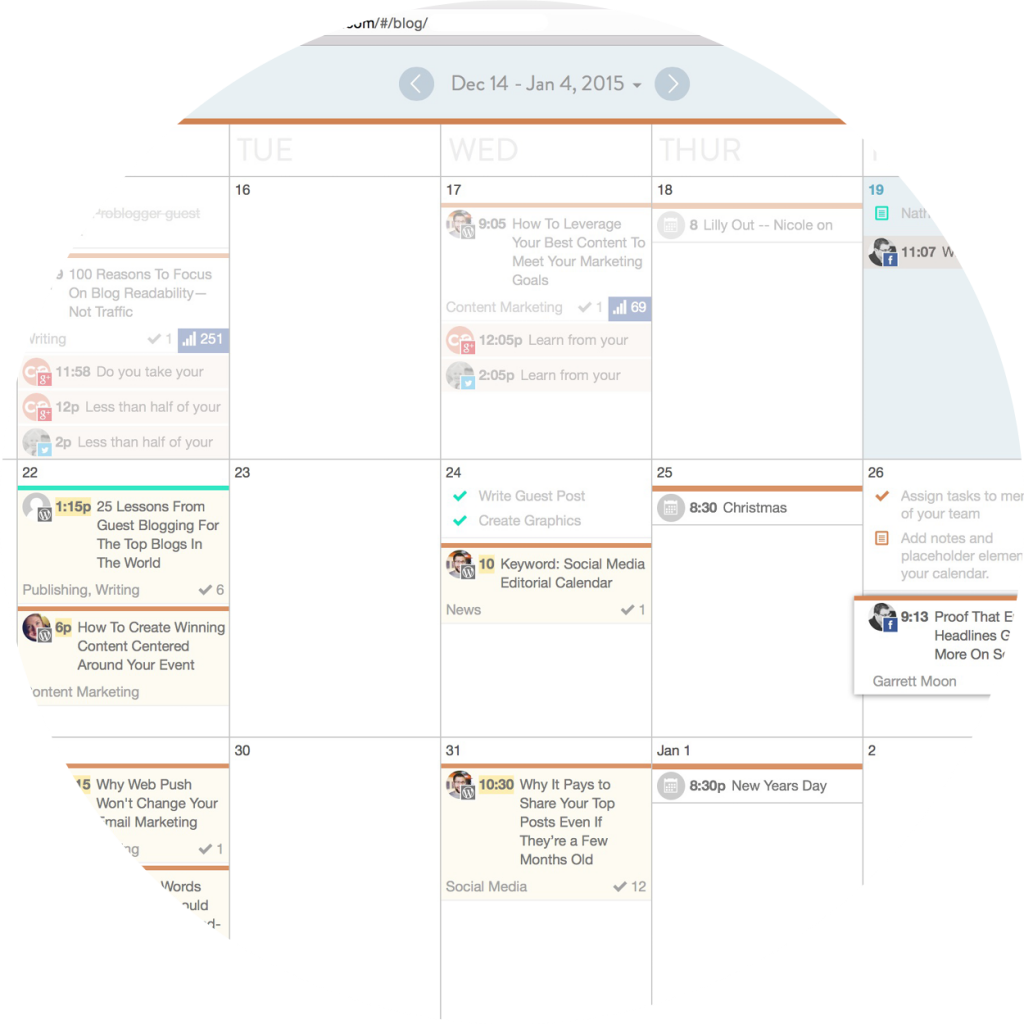 CoSchedule checklist
