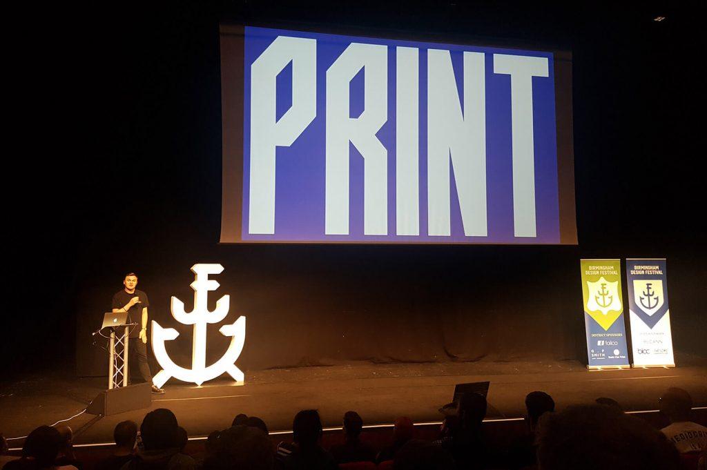 Craig Oldham at Birmingham Design Festival