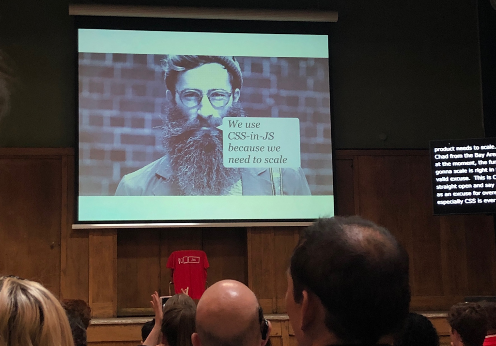 Andy Bell - slide from talk