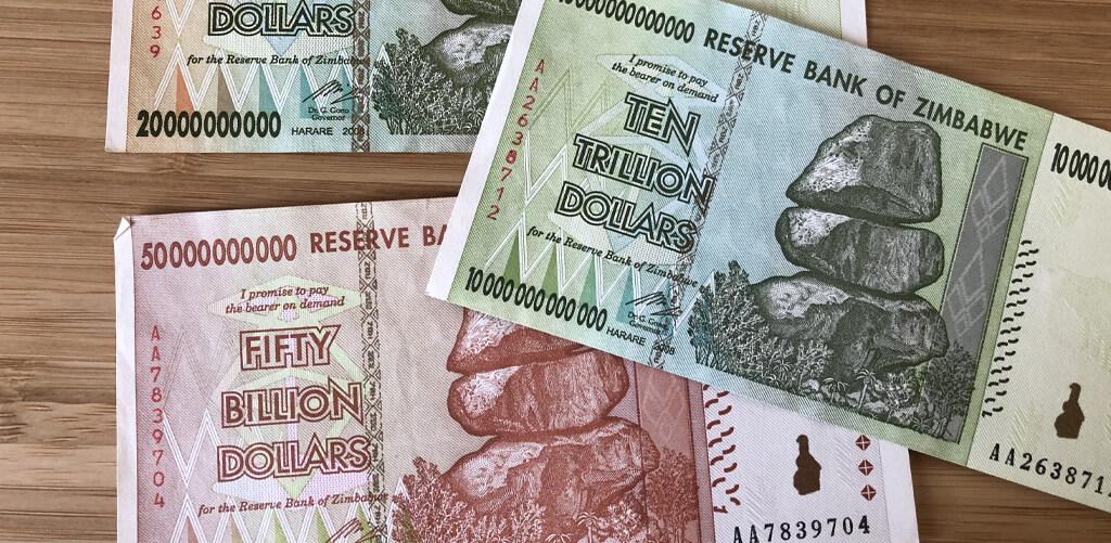 Zimbabwe-dollars